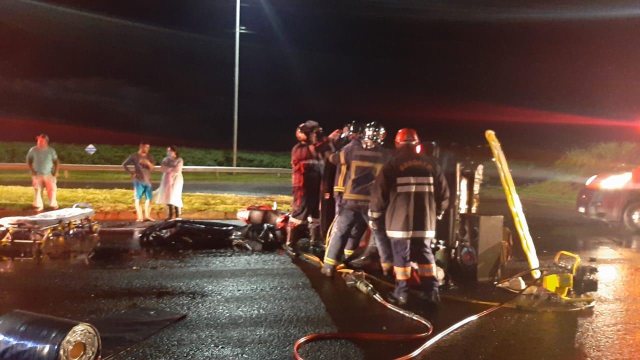 PRF atende dois acidentes em questão de 2 horas, 50 kms de distancia um do outro e dois óbitos