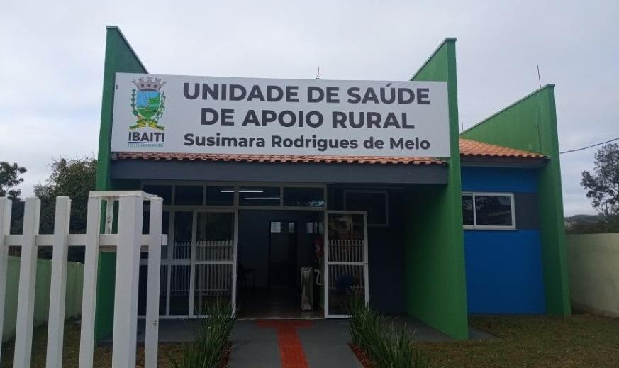 IBAITI: Unidade de Saúde de Apoio Rural do Patrimônio do Café recebe melhorias significativas