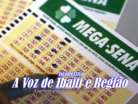 Mega-Sena acumula e prêmio no próximo sorteio vai passar dos R$ 20 milhões